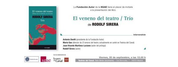 El_veneno_del_teatro_Rodolf_Sirera
