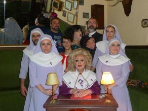 El Equipo: Dolly, Inma Cuevas, David Aramburu, Soledad Rosales, María Velesar