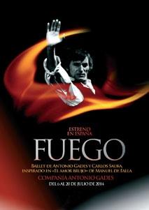 """""""Fuego"""" de Antonio Gades"""