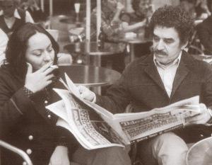 Foto 1. Gabriel García Márquez y Mercedes Barcha Pardo (Barceloana, c. 1972)